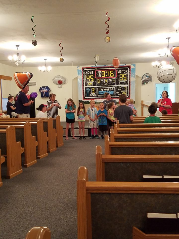 Getting Ready For VBS